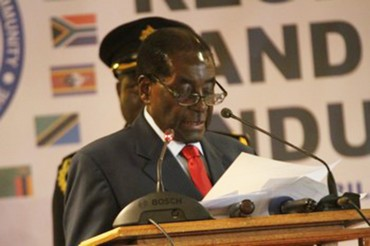 Verbatim de l'intervention de Son Excellence Robert Mugabe, président en exercice de la Conférence des Chefs d'État de l'Union Africaine, Président de la République de Zimbabwe